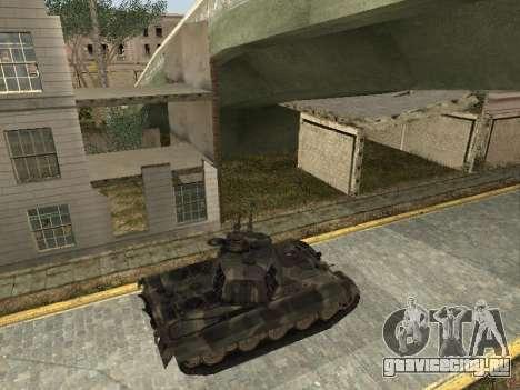 Panzerkampfwagen Tiger II для GTA San Andreas вид справа