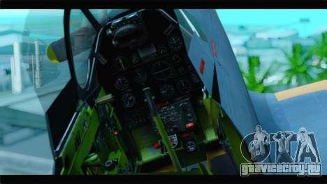 F-51D Israeli Air Force для GTA San Andreas вид сзади