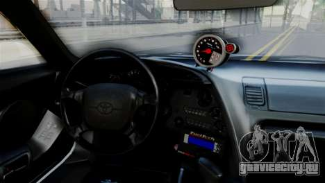 Toyota Supra 1998 FF7 для GTA San Andreas вид справа