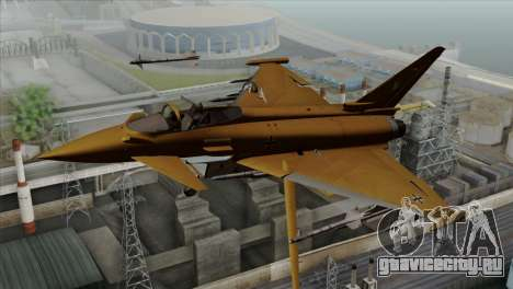Eurofighter Typhoon Tropical Camo для GTA San Andreas