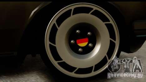 Mercedes-Benz 240 W123 Stance для GTA San Andreas вид сзади