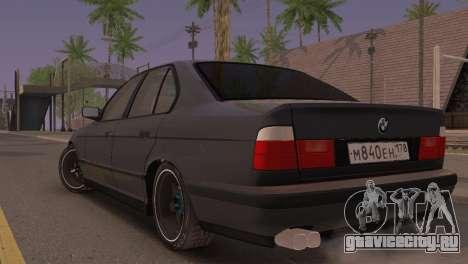 BMW 525i E34 2.0 для GTA San Andreas вид слева