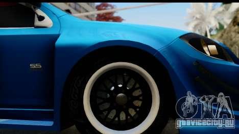 Chevrolet Cobalt SS Mio Itasha для GTA San Andreas вид сзади