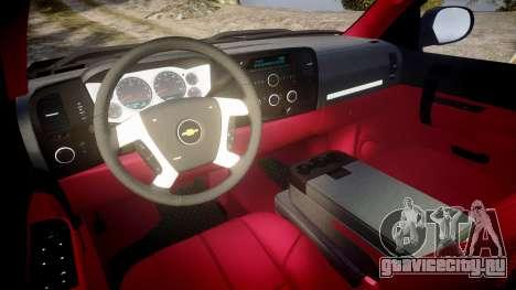 Chevrolet Silverado 1500 LT Extended Cab wheels3 для GTA 4 вид сзади