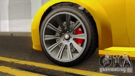 GTA 5 Ubermacht Zion XS Cabrio для GTA San Andreas вид сзади слева
