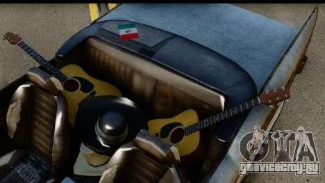 GTA 5 Declasse Tornado Worn для GTA San Andreas вид справа