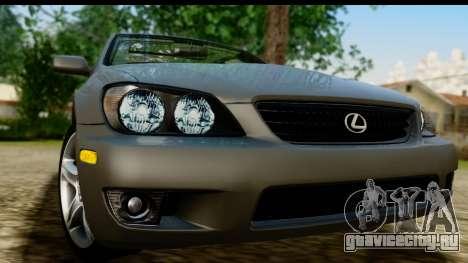 Lexus IS300 Tunable для GTA San Andreas вид сзади слева
