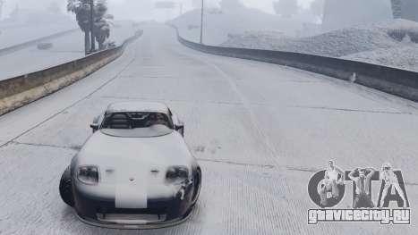 GTA V Online Snow Mod для GTA 5 шестой скриншот