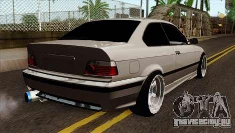 BMW M3 E36 для GTA San Andreas вид слева