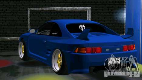 Toyota MR2 для GTA San Andreas вид справа