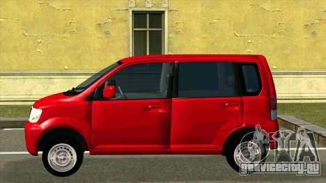 Mitsubishi eK Wagon для GTA San Andreas вид слева