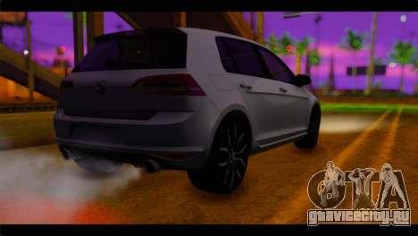 Volkswagen Golf 7 для GTA San Andreas вид слева