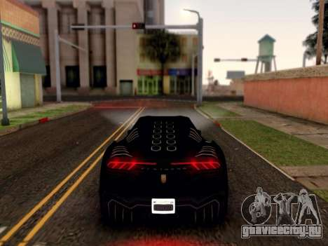 ENB для средних PC by WD для GTA San Andreas пятый скриншот
