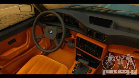 BMW 535is для GTA San Andreas вид справа