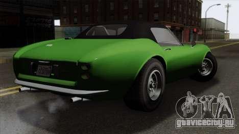 GTA 5 Grotti Stinger GT v2 для GTA San Andreas вид слева