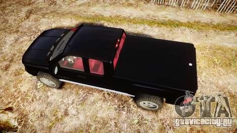 Chevrolet Silverado 1500 LT Extended Cab wheels3 для GTA 4 вид справа