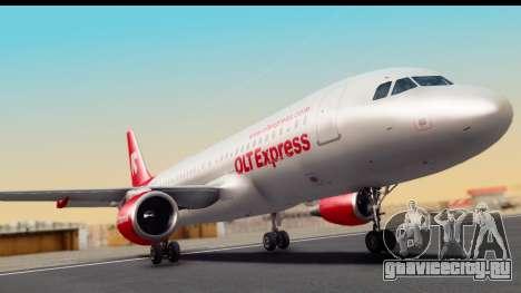 Airbus A320-200 OLT Express для GTA San Andreas