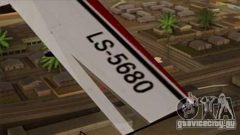 GTA 5 Stuntplane для GTA San Andreas вид справа