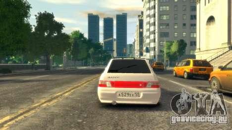 ВАЗ 2112 купе BadBoy для GTA 4 вид сзади слева
