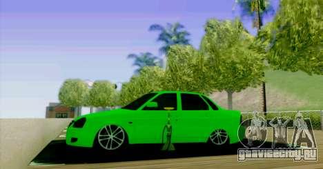 ВАЗ 2170 БПАN для GTA San Andreas вид сбоку