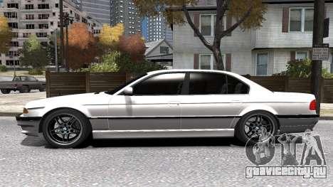 BMW 750i e38 1994 Final для GTA 4 вид сверху