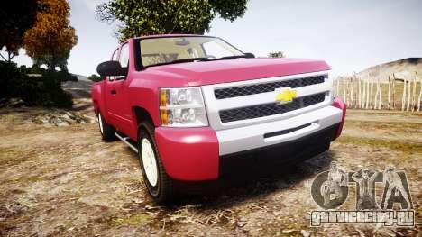 Chevrolet Silverado 1500 LT Extended Cab wheels1 для GTA 4