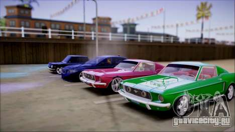 Reflective ENBSeries v2.0 для GTA San Andreas второй скриншот