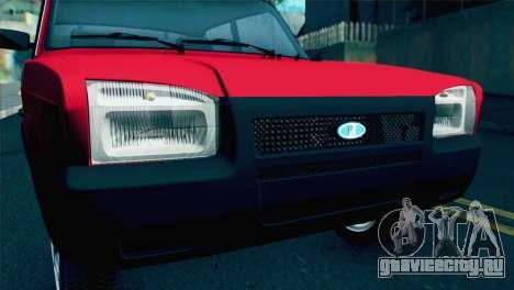 ВАЗ 2107М для GTA San Andreas вид справа
