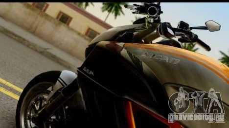 Ducati Diavel 2012 для GTA San Andreas вид справа