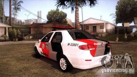 Fiat Siena 2011 для GTA San Andreas вид слева