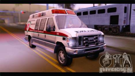 Ford E-350 Ambulance New Brunswick для GTA San Andreas