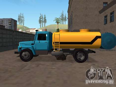 ГАЗ 53 Поливальная для GTA San Andreas вид слева