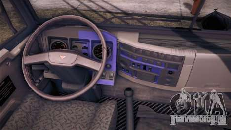 Tatra Katasi для GTA San Andreas вид сзади слева