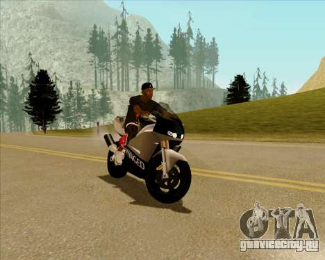 NRG-500 Winged Edition V.2 для GTA San Andreas