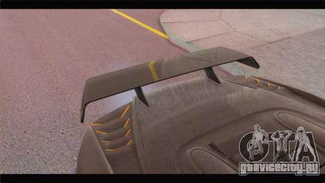 GTA 5 Pegassi Zentorno Spider для GTA San Andreas вид справа