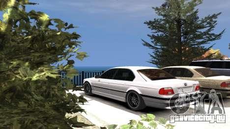 BMW 750i e38 1994 Final для GTA 4 колёса