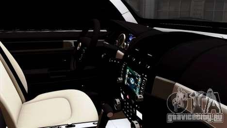 Lexus LX570 2011 для GTA San Andreas вид справа