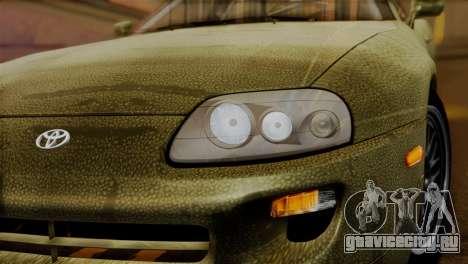Toyota Supra Turbo (JZA80) 1998 FF7 Edition для GTA San Andreas вид справа