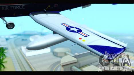 Beechcraft T-6 Texan II US Air Force 2 для GTA San Andreas вид справа