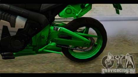 Honda CBR1000RR для GTA San Andreas вид сзади