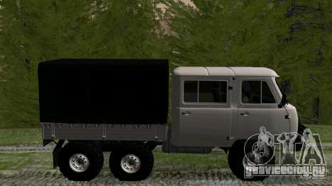 УАЗ 39094 6Х6 Мечта охотника для GTA San Andreas вид слева