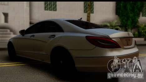 Mercedes-Benz CLS 350 2011 для GTA San Andreas вид слева