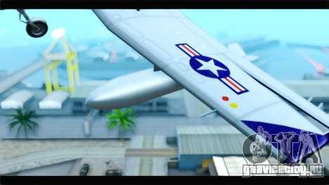 Beechcraft T-6 Texan II  United States Navy для GTA San Andreas вид справа