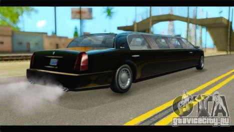 GTA 5 Dundreary Stretch IVF для GTA San Andreas вид слева