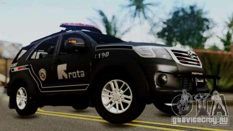 Toyota Hilux SW4 2014 ROTA для GTA San Andreas