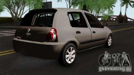 Renault Clio Mio 5P для GTA San Andreas вид слева