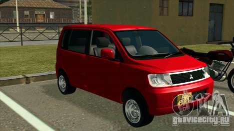 Mitsubishi eK Wagon для GTA San Andreas вид справа