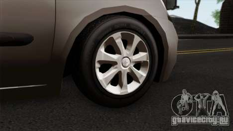 Renault Clio Mio 5P для GTA San Andreas вид сзади слева