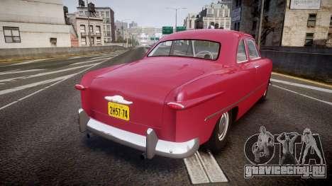 Ford Business 1949 v2.2 для GTA 4 вид сзади слева