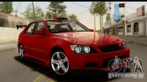 Lexus IS300 Tunable для GTA San Andreas салон